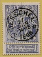 +MW-4213      *  DESSCHEL    *   OCB 71  Sterstempel     COBA   + 20  ZELDZAAM OP DEZE UITGIFTE - 1894-1896 Expositions