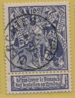 +MW-4216      *  HERCHIES  *   OCB 71  Sterstempel     COBA   + 60       ZELDZAAM OP DEZE UITGIFTE - 1894-1896 Expositions