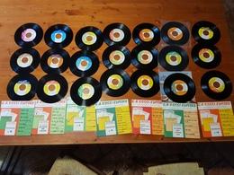 21pz.33 GIRI FORMATO PICCOLO C.A.ROSSI EDITORE PROMOZIONE EDITORIALE - Disco, Pop