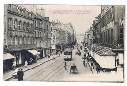 CHERBOURG  LA RUE GAMBETTA - Cherbourg