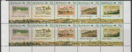 Australia 1988 The Early Years Strip Of 5 (pair) ** Mnh (44230A) - Ongebruikt