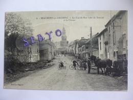 Beaumont En Argonne.  La Grande Rue (côté De Stonne) Et Le Chesne. - France