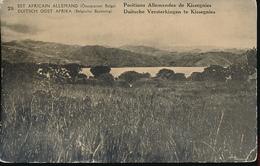 GEA RUANDA URUNDI 1918 ISSUE PPS STIBBE 17 VIEW 28 UNUSED - Entiers Postaux