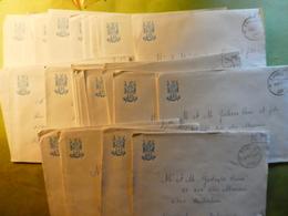 35 Lettres  Militaire Anderlues Vers Duren (Allemagne) FBA - BSD - 1974 - Vecchi Documenti