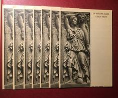 PNF Lotto 7 Cartoline Franchigia Mostra Augustea 1937 Non Viaggiate - Guerra 1939-45