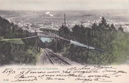 A Namur Le Pont Rustique Sur Le Funiculaire - Namur