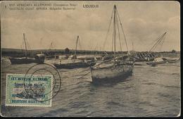 GEA RUANDA URUNDI 1918 ISSUE PPS STIBBE 11 VIEW 1 CTO - Entiers Postaux