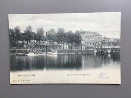 MIDDELBURG - Blauwe Dijk Met Barge Boot - Middelburg