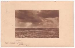 °°° 13597 - DESERTO TRISTE , METALLICO IL MARE , D'ANNUNZIO - 1915 °°° - Filosofia & Pensatori