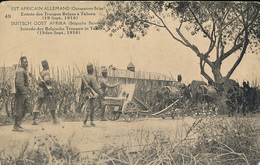 GEA RUANDA URUNDI 1918 ISSUE PPS STIBBE 12 VIEW 48 UNUSED - Entiers Postaux