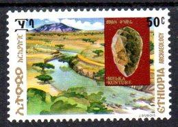 1977, Ethiopie, Archéologie, Préhistoire, Silex - Etiopía