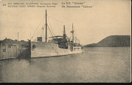 GEA RUANDA URUNDI 1918 ISSUE PPS STIBBE 12 VIEW 33 UNUSED - Entiers Postaux