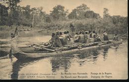 GEA RUANDA URUNDI 1918 ISSUE PPS STIBBE 12 VIEW 30 UNUSED - Entiers Postaux