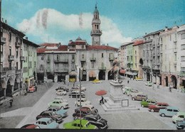 PIEMONTE - CASALE MONFERRATO - PIAZZA MAZZINI - B/N COLORATO - VIAGGIATA 1961 - Italia