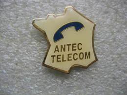 Pin's Antec Telecom. Carte De France - Postes