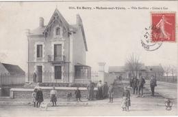 CPA Dept 18 MEHUN SUR YEVRE Villa Barillier Usine A Gaz - Mehun-sur-Yèvre