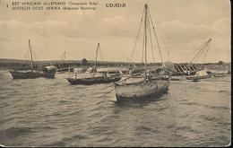 GEA RUANDA URUNDI 1918 ISSUE PPS STIBBE 12 VIEW 1 UNUSED - Entiers Postaux