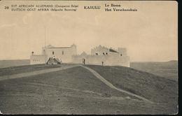 GEA RUANDA URUNDI 1918 ISSUE PPS STIBBE 12 VIEW 20 UNUSED - Entiers Postaux