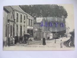 Amagne-Lucquy. Rue De Coucy.  Le Familistère.  Tabac. - Other Municipalities