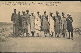 GEA RUANDA URUNDI 1918 ISSUE PPS STIBBE 12 VIEW 12 UNUSED - Entiers Postaux