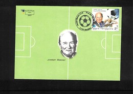 Bosnia And Herzegowina 2007 Football - Joseph Blattner FDC - Fussball