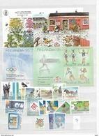 1994  MNH Finland, Year Complete According To Michel, Postfris** - Finlandia