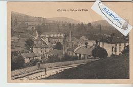 COURS : Usine De L'Isle,grande Cheminée. - Cours-la-Ville