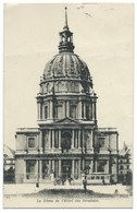 CPA PARIS / LE DOME DE L'HOTEL DES INVALIDES 1919 / TIMBRE TAXE - Autres Monuments, édifices