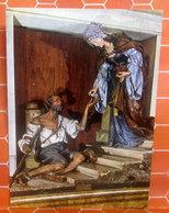 S. ELISABETTA Scultura Di Moroder Chiesa Di Ortisei Cartolina Non Viaggiata - Quadri, Vetrate E Statue
