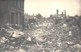 Lisieux Banque Société Générale Rue Pont Mortain Ruines 1944 Guerre - Lisieux