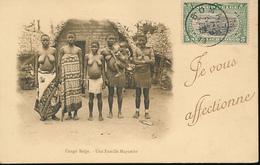 BELGIAN CONGO UNE FAMILLE MAYUMBE - Congo Belge - Autres