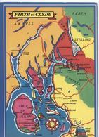 Firth Of Clyde - Estuarium - Coloured Card - Ayrshire