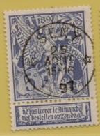 +MW-4225      *  SENY  *   OCB 71  Sterstempel     COBA   + 15       ZELDZAAM OP DEZE UITGIFTE - 1894-1896 Expositions