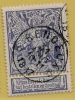 +MW-4227     *  RENDEUX    *   OCB 71  Sterstempel     COBA   + 15       ZELDZAAM OP DEZE UITGIFTE - 1894-1896 Expositions