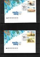 Russia 2011 Olympic Games Sochi FDC - Winter 2014: Sochi