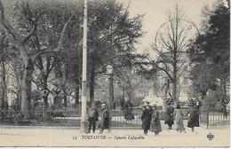 31, Haute Garonne, TOULOUSE, Square Lafayette, Scan Recto Verso - Toulouse
