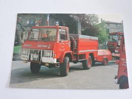 Couzances Les Forges - Dévidoir Automobile Tout Terrain Berliet Mai 1994  Ref 0485 - Sapeurs-Pompiers