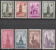 Belgie    .    OBP      .     532/537      .      **       .   Postfris    .  / .  Neuf Sans  Charniere - Belgique