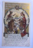 VI. Deutsches Sängerbundesfest Graz  1902 ♥  - Österreich
