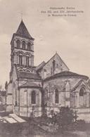 HISTORISCHE KIRCHE DES XII UND XIV JAHRHUNDERTS IN NOUVION-LE-VINEUX VIAGGIATA - Francia