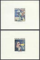 1393) 2 Épreuves De Luxe Des P.A. N°204 Et 205 République Du Gabonaise - Tableaux De Gauguin - Gabun (1960-...)