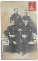 Brest Carte Photo Groupe De Militaire Du 19e Régiment E. Jotté-Latouche, Photo Brest - Brest