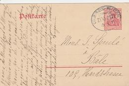 France Alsace Ambulant Colmar-Metzeral Sur Entier Postal 1911 - Poststempel (Briefe)