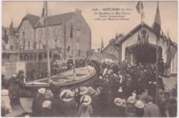 Bw - Cpa SAINT MARC- Le Baptême Du Meg-Charcot, Canot De Sauvetage Offert Par Madame Charcot - Saint Nazaire