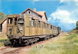 Chemin De Fer Touristique De La Vallée De La Doller - Motrice M 1110 - Gare De Sentheim - Eisenbahnen