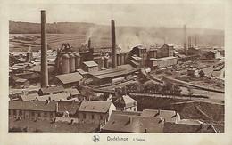 DUDELANGE  -  L'USINE  Nels,Luxembourg  2 Scans - Postkaarten