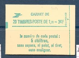 Carnet Fermé LIBERTE DE DELACROIX N° 2318-C1 GB - Conf 8** Cote 23€ - Carnets