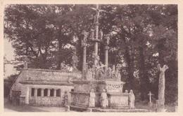 MORBIHAN GUEHENNO CALVAIRE DE GRANIT ERIGE EN 1550 NON VIAGGIATA - Bretagne