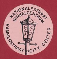 Sticker Autocollant Nationalestraat Kammenstraat Winkelcentrum City Center Antwerpen Aufkleber Adesivo - Stickers