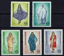 Libyen Libya 1985 - Trachten  Folk Costume - MiNr 1570-1574 - Kostüme